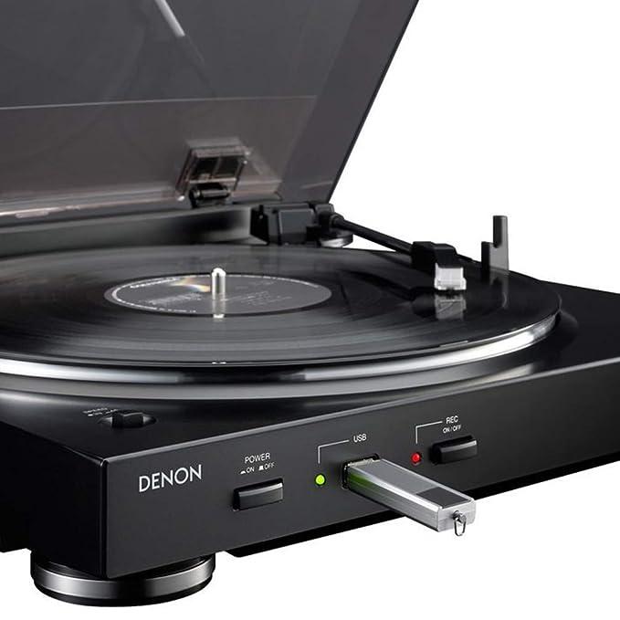 DENON DP-200 USB SILVER Giradiscos USB: Amazon.es: Electrónica