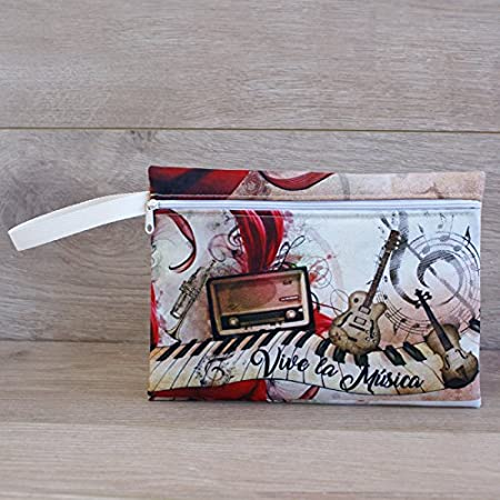 Artemodel Música neceser 24 x 17 cm re: 0459: Amazon.es ...