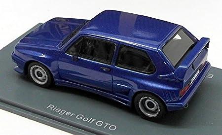 Rieger VW Golf I GTO, azul met., limitado Edición 300 Pieza , Modelo de Auto, modello completo, Neo Limitado 300 1:43: Neo Limitado 300: Amazon.es: Juguetes ...