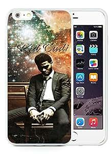 Beautiful Designed Case With Kid Cudi White For iPhone 6 Plus 5.5 Inch TPU Phone Case