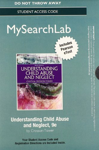 MySearchLab with Pearson eText -- Standalone Access Card -- for Understanding Child Abuse and Neglect (9th Edition)