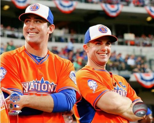 Matt Harvey David Wright New York Mets 2013 MLB All Star Game Photo 8x10