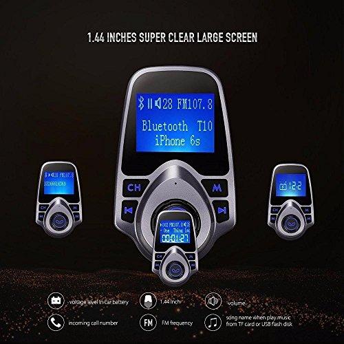 Covermason Bluetooth Kit MP3 Player FM Transmetteur Radio sans fil