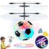 Flying Ball Drone, Kids Flying Toys Boys Girls Light Up Ball Drone RC Infrared Induction Helicopter with Remote Controller UFO Aircraft Toys Games Toys for 1 2 3 4 5 6 7 8 9 10 Year Old Indoor Outdoor