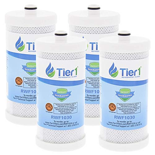 Tier1 Replacement for Frigidaire WF1CB PureSource, WFCB, RG100, WF284, NGR2000, Kenmore 469906, 469910 Refrigerator Water Filter 4 - Rg100 Puresource