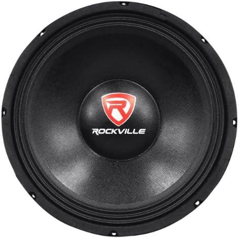 "Pair 18/"" Woofer PA Speaker Driver 8 Ohms Aluminium Sub Bass Cone 1000w RMS"