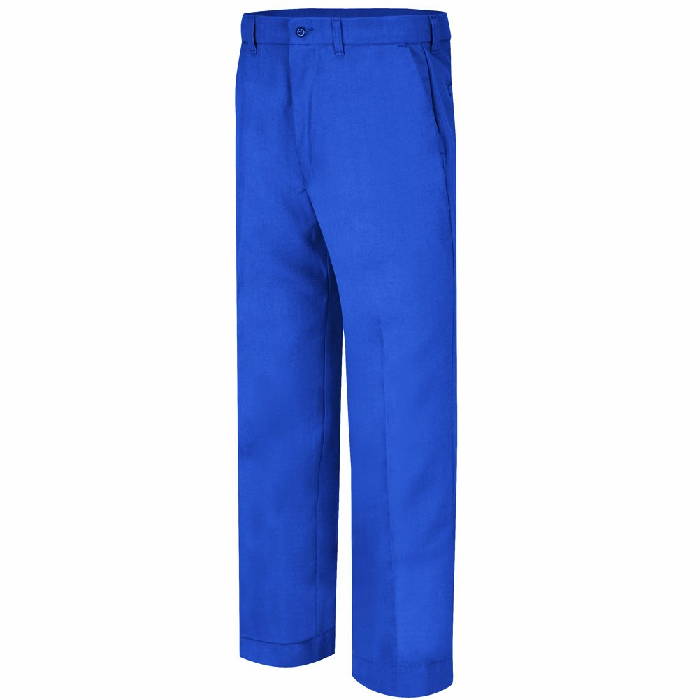 Bulwark Flame Resistant 6 Oz Nomex Iiia Mens Work Pant With Button Closure Royal Blue 36 Waist And 30 Inseam Amazon In Industrial Scientific