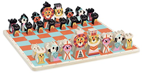 Vilac Vilac7721 First Chess Game, Multi-Color