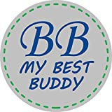 BB MY BEST BUDDY Toddler Kids Pillowcases - Robots 13 x 18 - shrinks to fit - 100% cotton - naturally hypoallergenic and soft - Made in USA