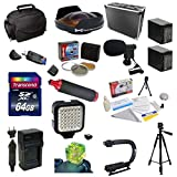 Special Edition All Sport Accessory Package For the Sony HDR-PJ650V Includes - 64GB High Speed Error Free SDHC Memory Card + Professional 5 Piece Filter Kit (UV, CPL, FL, ND4 and 10x Macro Lens) + 0.3X High Definition II Extreme Ultra Fisheye Lens + 2 Add