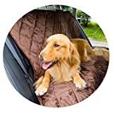 ZZmeet Large Small Universal Dog Car Pet Seat Covers Carrier Travel Accessories Two-Seater Trunk Mat Products,Black,Seat