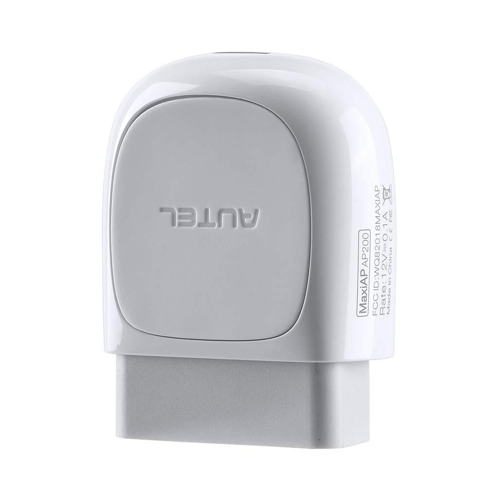 19 Funciones Especiales AutoVin, edici/ón Bluetooth de MaxiCom MK808 Adaptador de esc/áner con Todos los diagn/ósticos del Sistema Autel MaxiAP AP200 OBD2