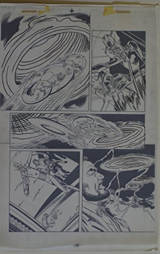 Armada Art - DICK GIORDANO / MIKE DeCARLO original art, SLIDERS Armada #2 pg 17