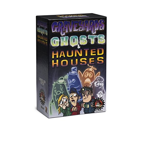 Rather Dashing Games Graveyards, Ghosts & Haunted Houses Board Game by Rather Dashing Games