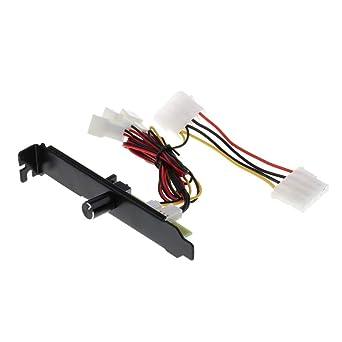 SGerste - Controlador de velocidad de ventilador de refrigeración ...