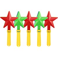 TOYANDONA 5pcs Hand Clappers Noisemakers Fun Plastic Clapping Hands Party Supplies for Party Favor Prizes and Supplies