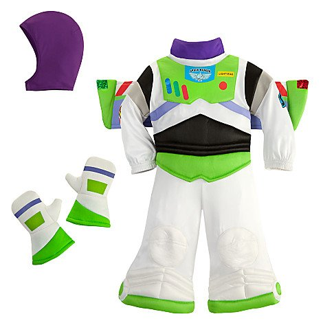 Disney Store Deluxe Buzz Lightyear Costume for Baby Toddlers 18 - 24 Months (2T or 2 Years) (Disney Buzz Lightyear Costume)
