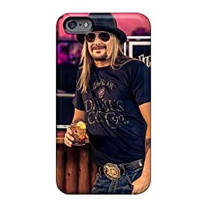 Anti-Scratch Hard Phone Cover For Iphone 6 With Customized Attractive Kid Rock Band Pictures SherriFakhry