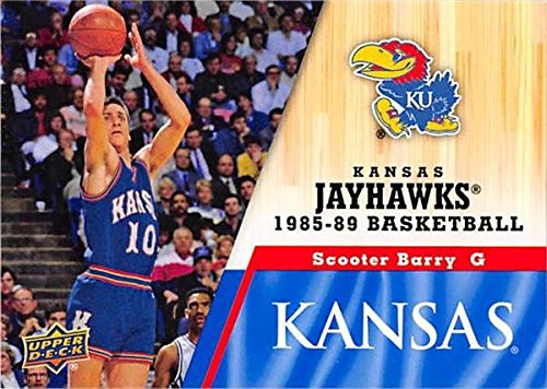 - Scooter Barry Basketball Card (Kansas Jayhawks, 1985-1989) 2013 Upper Deck #39