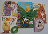 img - for Book Sets Easter Board Books : Mary Had A little lamb - Little Quack - Happy Easter, Maisy - Happy baby farm - Easter Fun - Fluffy Bunnies (An Unofficial Easter Book Set) book / textbook / text book