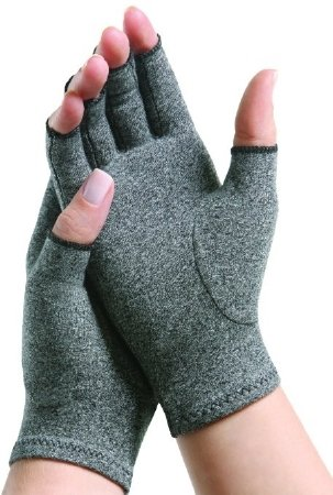 Arthritis Glove IMAK Compression Open Finger Over-The-Wrist Hand Specific Pair Cotton/Lycra - X-Large - 1 Each/Box - 71043000 by Brown Medical