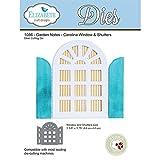 Elizabeth Craft Designs Garden Notes Steel Die - Carolina Window & Shutters 1086