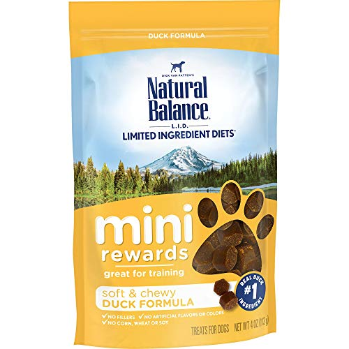 Natural Balance Mini Rewards Dog Treats, Duck