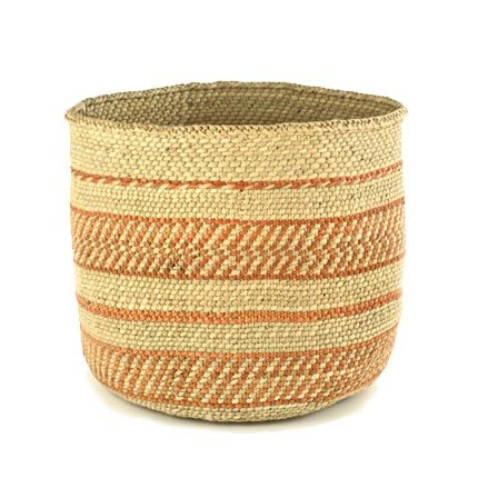 Handmade Fair Trade Woven African Basket
