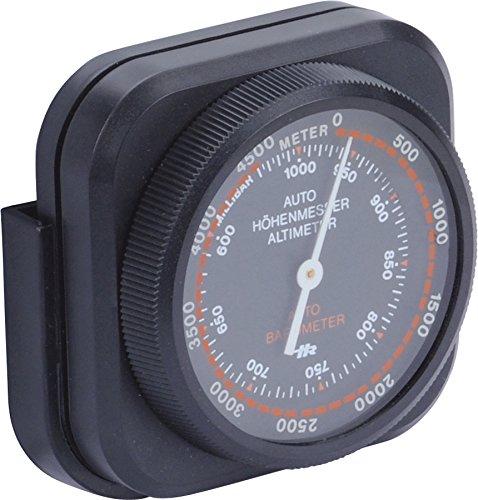 Hr-imotion Höhenmesser   mobiles Barometer [Kompakt , Selbstklebend , Inkl. Halterung] - 10310501