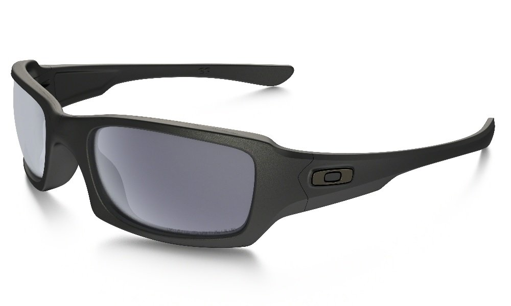 oakley fives squared sunglasses asian fit  oakley fives squared sunglasses matte black / black iridium polarized (009238 2554)