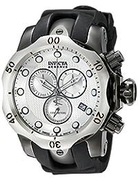 Invicta Men's 16155 Venom Analog Display Swiss Quartz Black Watch