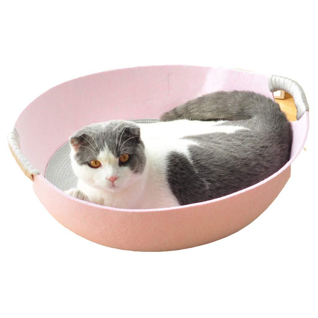 Pet Nest, Cat Nest, Cool Summer, Pet Favorite Bed (Pink   48X45X17CM)