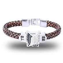 Attack on Titan Bracelet Shingeki No Kyojin Survey Corps TV Alloy Hand Strap