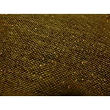 CLEARANCE: Donegal Tweed Fabric, Light Weight Wool Mix Fabric 3 x Colours - 150 cms - 270 gsm (Brown with Gold) by Ralston Fabrics