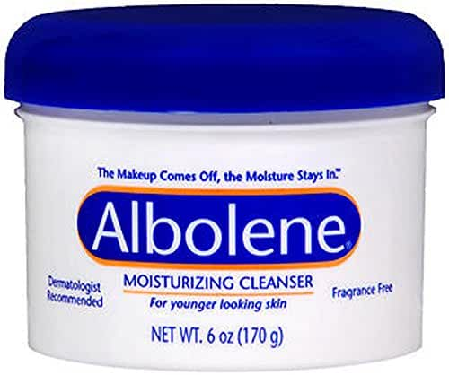 Albolene Moisturizing Cleanser, 6 Ounce