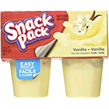 Snack Pack Vanilla Pudding - 4x99g (Pack of 12)