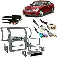 Fits Infiniti G35 Sedan 2003-2004 Aftermarket Harness Radio Install Dash Kit