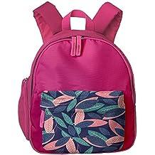 Watercolor Leaves Durable Book Kid' Bag For Children School Backpacks