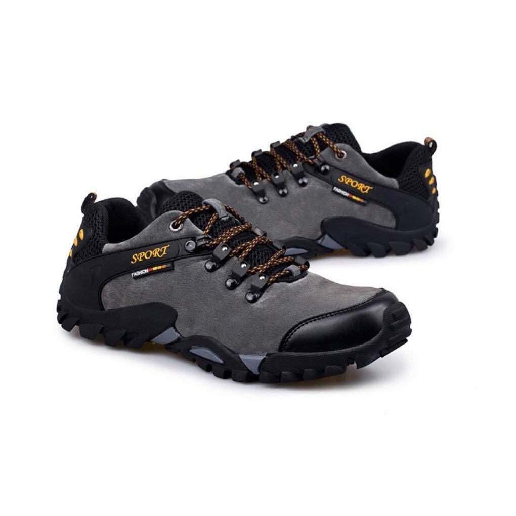 Wanderschuhe der im Freien Mens, Breathable wandernde Schuhe, Schuhe, Schuhe, Rutschfeste Frühlings-Schuhe, Gummisohle, Zehen-Stoßdämpfer - für Trekking, Tägliche Verwendung, Ganze Jahreszeit 3c25a3