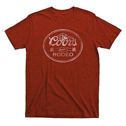 Coors Banquet Rodeo Mens T-shirt