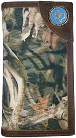 Custom Texas Seal Ariat Bonz long wallet