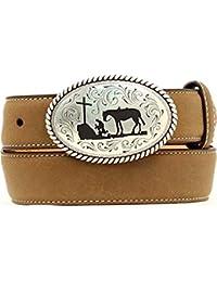 Nocona Boys Cowboy Prayer Belt & Buckle