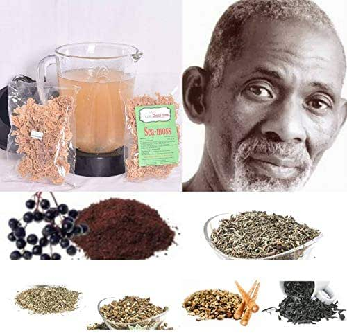 Intracellular Detox Cleanse Package- (Dr Sebi Approved Alkaline Herbs) Cleanse The Liver, Kidneys, and Blood