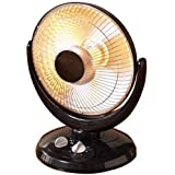 NINGBO KONWIN ELECTRICAL APPLIANCE JHS-800H WP Black Parabolic Heater