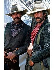 Tom Selleck Sam Elliott The Sacketts TV Western Pose 24X36 Poster