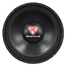 Rockville RVP12W8 600 Watt 12-Inch Raw Replacement DJ PA Subwoofer 8 Ohm Sub Woofer