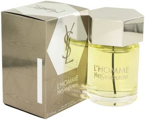 L'Homme Yves Saint Laurent By Yves Saint Laurent For Men. Eau De Toilette Spray 3.3-Ounce Bottle