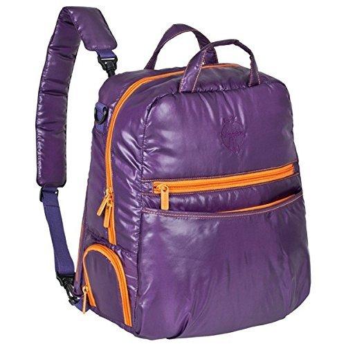 Lässig–Mochila para pañales Glam Backpack purple/orange purple/orange
