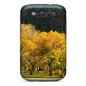 New Style R. Steven Hard Case Cover For Galaxy S3- Autumn Mountainscape Pasture
