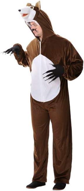 Disfraz lobo adulto. Talla 50/52.: Amazon.es: Juguetes y juegos